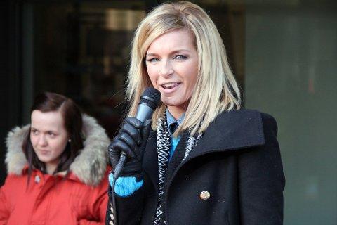 TILBAKE: Kathrine Sørland er tilbake på outleten. Onsdag blir hun konferansier i det Norwegian Outlet åpner 15 nye butikker.