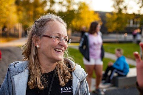 Ingrid Fischer er stolt etter at Bayaz åpningsfest også i år ble en stor suksess. ALLE FOTO: FOTOGRAFEN SAMESTAD