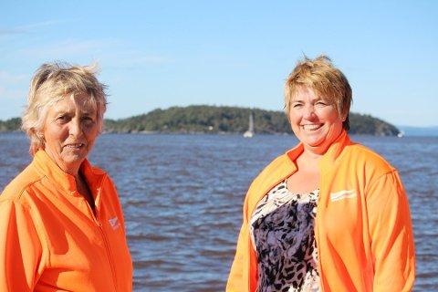 GLADE: Svanhild Larsen og May-Lis Treideri Soon Seilforening er glade for at de også kommende sommer får være medarrangør av Hollenderseilasen.