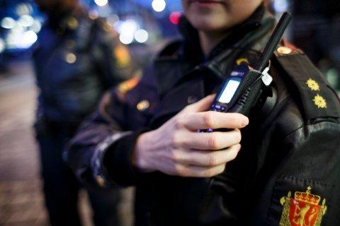 Politiet måtte rykke ut til Son natt til søndag.