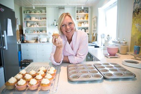 """HAR EN OPPSKRIFT PÅ DET MESTE: Evy Thune vil kjempe for å bevare utelivet i Vestby. Samtidig får hun fart på sitt eget """"Fru Thune Bakery""""."""