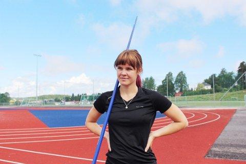 HÅPER:Andrea Enerstad Bolle håper å fortsette spydkarrieren, men er ikke veldig optimist.