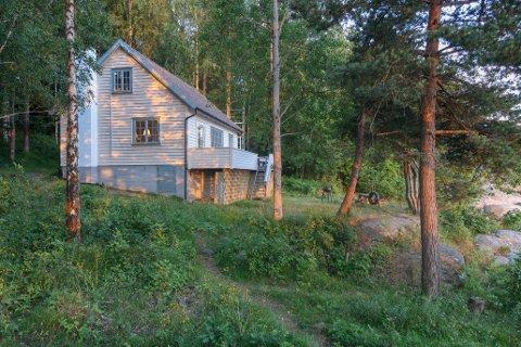 POPULÆR: Svartåshytta på Krokstrand er en av de mest populære kystledhyttene. I år har hytta hatt 560 gjestedøgn, og det er fortsatt mulig å booke hytta.