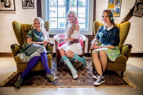 FARGERIK TRIO: Unni Wilhelmsen-trio består av Sol Heilo og Hanne Mari Karlsen, i tillegg til Unni Wilhelmsen selv.