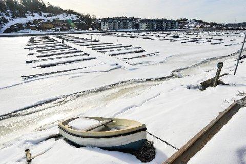 LENGRE SESONG: Lengre sesong i båthavna er en av mange ting sterke krefter i Son nå vil jobbe for.