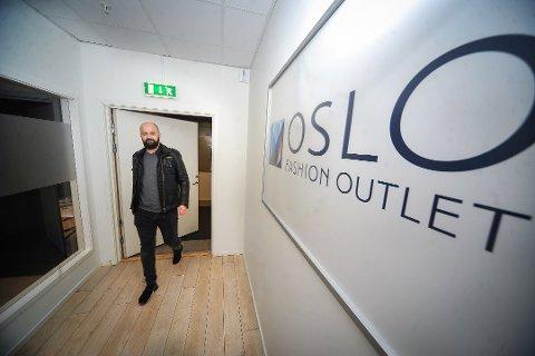 REKORDÅR: Senterleder Lars Pedersen ved Oslo Fashion Outlet er strålende fornøyd med både julehandelen og 2018 som helhet.