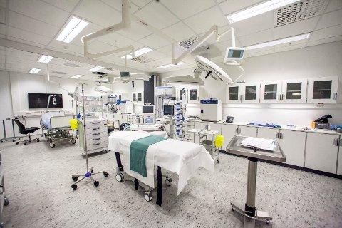 UTVIDES: Akuttmottaket ved Sykehuset Østfold skal utvides. Mandag godkjente styret utbyggingsplanene.