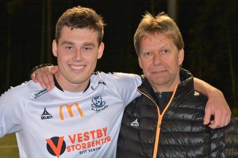 HSV-trippel. To mål av Henrik Moltzau holdt til at HSV sikret alle tre poengene i borteoppgjøret mot Askim fredag kveld. Nå har trener Morten Enersen god tro på at laget skal klare å holde seg i 5. divisjon