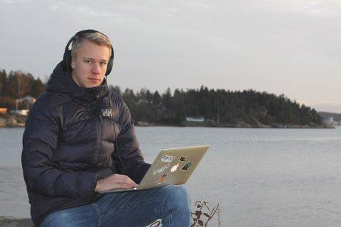 NYTT ALBUM: Mikal Oberstad Manskow, aka Corolla, er snart ute med sitt andre album. Drømmen er å stå på en scene.