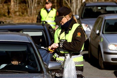 SJEKKER MANGE: Denne uka er politiet spesielt ute etter én type lovbrudd bak rattet.