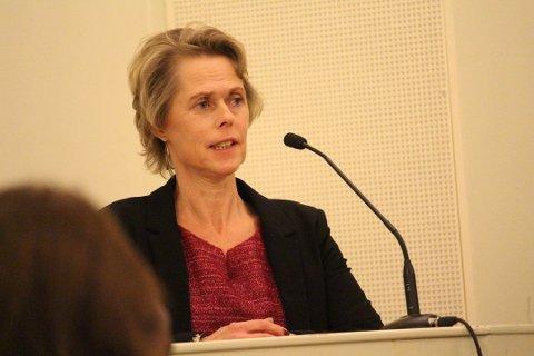 FORNØYD: Sp-leder Tone Skretting er fornøyd med at Ikea nå dropper planene om varehus i Vestby.