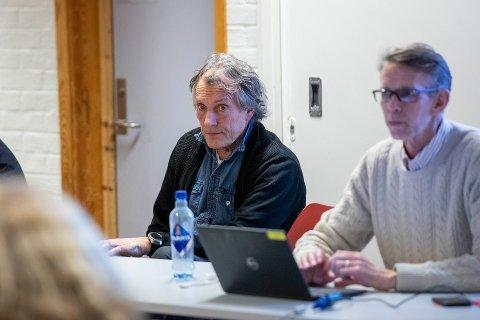 UT: Pål Mørk og Arild Dregelid var to som forlot DFI styret under årsmøtet.