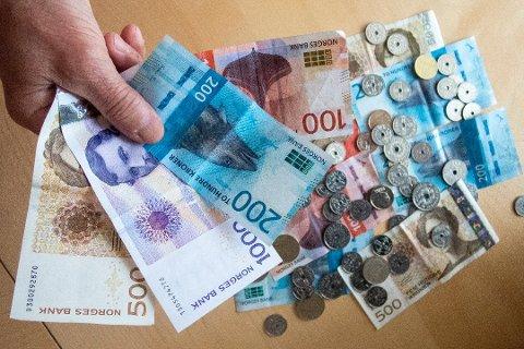 De som har til gode på skatten, kan glede seg fra og med torsdag. Foto: Gorm Kallestad / NTB scanpix