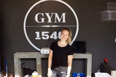 ENGASJERT KVINNE: Linn Solvang er meddriver av Gym 1540 og er opptatt av næringslivet i Vestby.