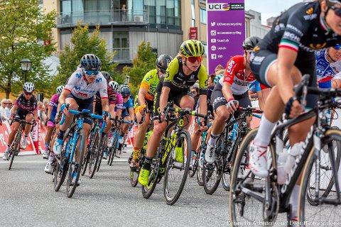 KOMMER TIL VESTBY: Lørdag 24. august kommer verdens beste kvinnelige syklister til å sykle gjennom Vestby under Ladies Tour of Norway.