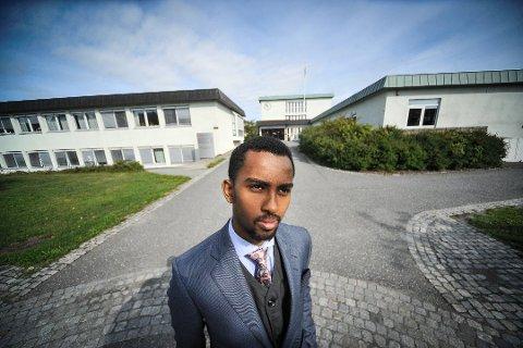 FORNØYD: Høyrepolitiker Roble Wais er glad for at Vestby endelig får et eget ungdomsråd.