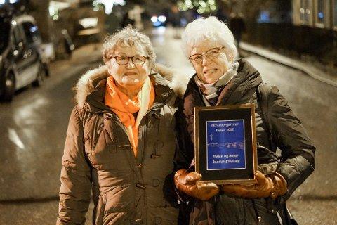 Vinnerne av årets hørning ble Hølen og Såner sanitetsforening.