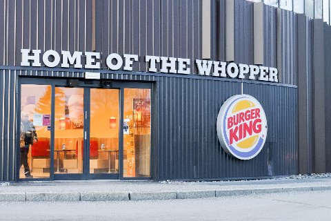 Burger King på Vestby storsenter fikk smilefjes etter at Mattilsynet var på uanmeldt besøk.