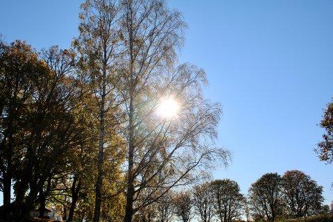 De neste dagene er det mye fint høstvær i vente på Østlandet.