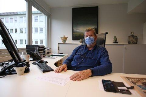 Tom Anders Ludvigsen, ordfører i Vestby kommune, lar seg imponere av Vestby-folk innsats mot koronaviruset.