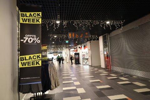 BLACK FRIDAY: Flere butikker på Vestby Storsenter opplevde gode handledager under Black Week.