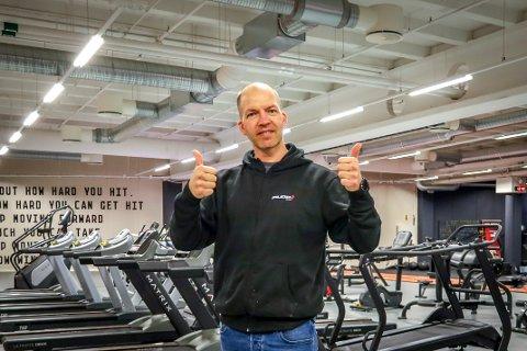 NY NORGESSJEF: Tidligere sjef for treningssenteret Mudo i Vestby, Marius Vesterby (48), gir fra seg roret for senteret i Vestby for å bli sjef for alle treningssenterkjedens avdelinger i Norge.
