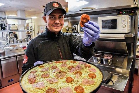 Owe Holtebu er eier av Peppes Pizza i både Vestby, Moss og Askim. Han ser ikke frem mot nye koronainnstramninger.