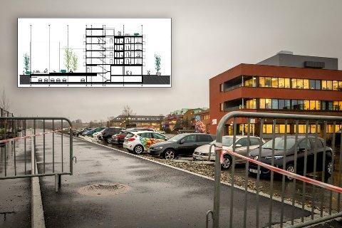 Det planlagte boligprosjektet ved NAV-bygget i Vestby sentrum kan nå bli skrinlagt. Utbygger skylder på for høye kostnader og lite lønnsomhet.