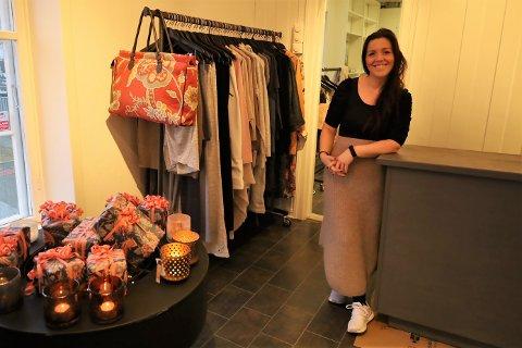 Kate Anker-Nilssen (33) har åpnet butikken «Lystig» i Son.