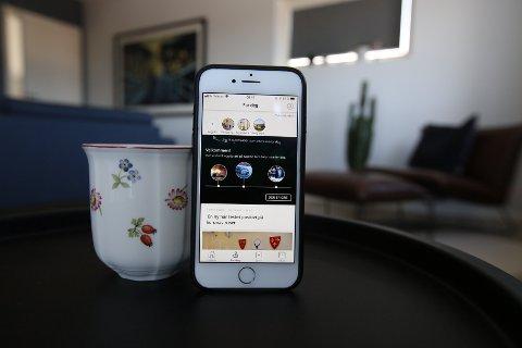 Last ned appen vår og følg nyhetene som du er mest opptatt av.