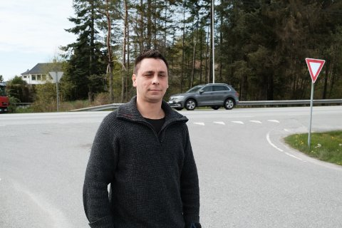 FIKK GJENNOMSLAG: Håkon Hansen mener han ble feilmålt av politiet.