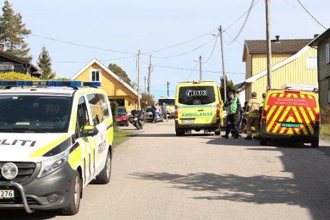 OMKOM: Kvinnen omkom etter hendelsen på Jeløy.