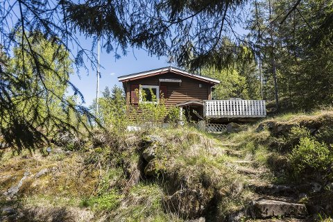 Denne hytta er i skrivende stund Vestbys billigste.