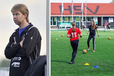 OPPGITT: Morten Enersen ved HSV Fotball hadde et stort håp om at regjeringen ville åpne opp for breddefotballen. Slik ble det ikke.