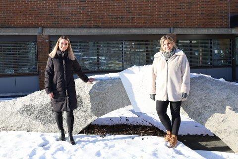 Kommunepsykolog Ingeborg Berg Nilssen og kognitiv terapeut Vera Nikolaisen skal holde kurs i angstmestring for voksne i Vestby.