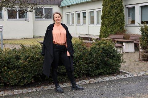 MANGE PÅ HJEMMEKONTOR: - Jeg skulle gjerne hatt et bilde med hele gjengen, sier bygningssjef June Cathrine Ormstad.