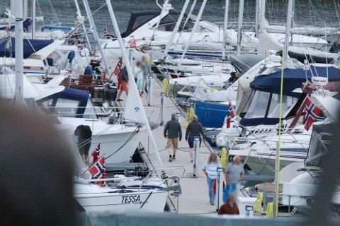 STØY: Mange av gjestene i de andre av båtene reagerte på kvinnes oppførsel. Illustrasjonsbilde: Mattias Melquist