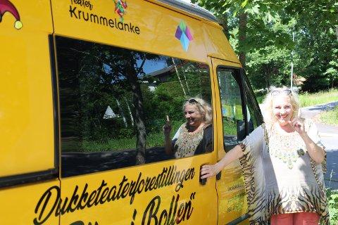 SOL OG SCENE: Pop opp bilen er synlig, og vil snart stå parkert to timer om dagen rundt i Vestby og Moss kommune.
