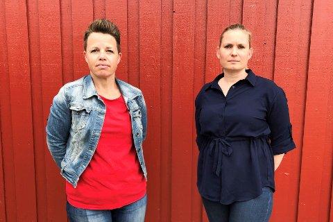 Randi Rygg Sikstrøm, Fagforbudet, og Marianne Mork i Norsk Sykepleierforbund.