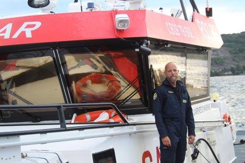 MANGE PÅ SJØEN: Høy aktivitet på sjøen har ført til tidvis mange oppdrag for Redningsselskapet denne uken. Bildet er tatt av skipsfører Bertil Spetz ved en tidligere anledning.