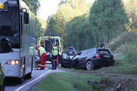 SIKKERHET: Ambulansene som er levert de siste årene er ikke kollisjonstestet, og dermed potensielle dødsfeller, kommer det fram i dokumenter Tønsbergs Blad har fått innsyn i.