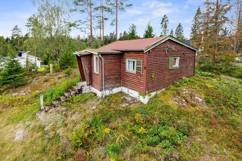 KJØPT AV NABOEN: Naboen kjøpte denne 1,8 mål store eiendommen ligger sentralt men landlig til mellom Siggerud og Ski.
