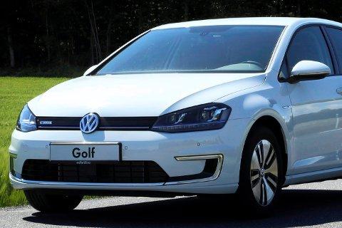 TOTAL DOMINANS: Golf selges som elbil, på ordinære drivstoff, som stasjonsvogn, multivan og i Alltrack-versjon. Resultatet er en salgssuksess uten sidestykke.