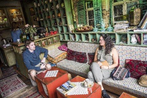PAUSE: Kaféliv er en sentral faktor i enhver reise til Bosnia og Hercegovina. Kafeen er stedet for å nyte, kjenne på stemningen og komme nærmere landets uvanlig gjestmilde befolkning.