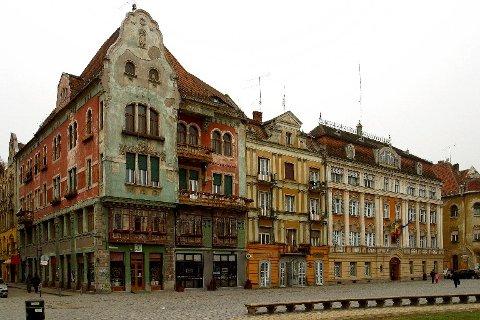 ROMANIA: Fra gamlebyen i Timisoara, en av byene Torbjørn Færøvik anbefaler langs Orientekspressens gamle rute.