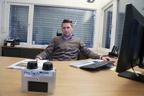 DAGLIG LEDER: Ulrik Hasle er daglig leder og medeier i Protech Consult, et selskap som driver med rystelsesmåling.