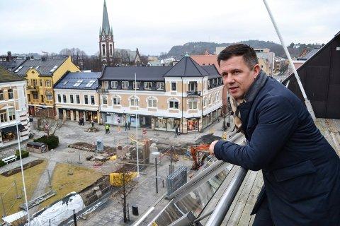 GÅR TIL Q4: Administrerende direktør i EiendomsMegler 1 BV, Rune Allerød, blir med i det nye selskapet Q4.