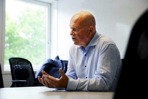 Konserndirektør i Amedia, Pål Eskås, ønsker ikke å kommentere dommen fra Tønsberg tingrett.
