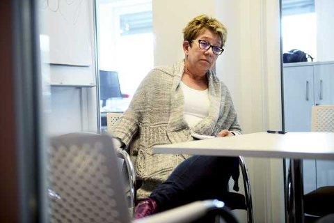 - Rettferdigheten har seiret, sier klubbleder for typografene i Amedia Annonseproduksjon, Else Marit Larsen, om tingrettsdommen.