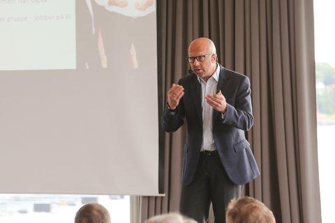 Haakon Gellein, daglig leder i EGN Norge, forteller at de til høsten starter nettverksgrupper i Vestfold.